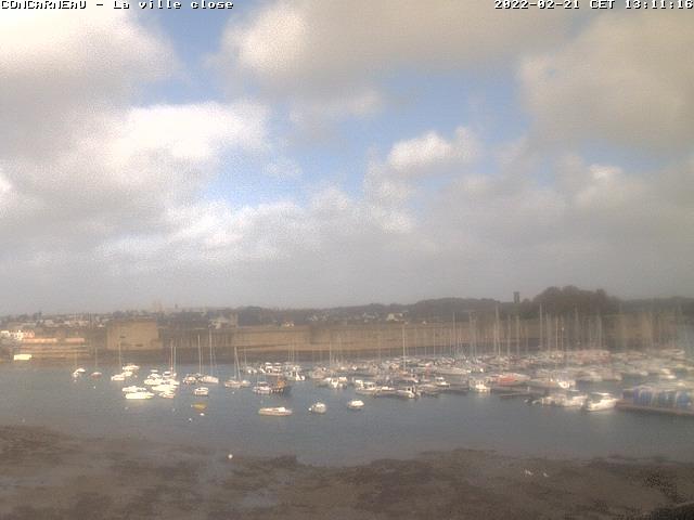 webcam de la Ville de Concarneau